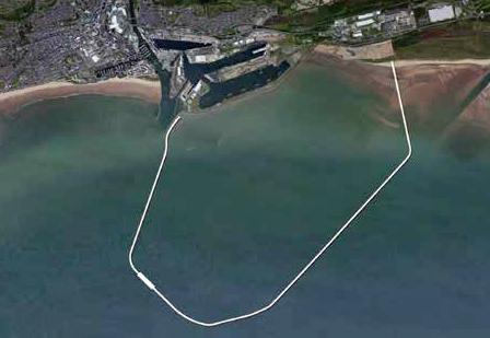 Swansea Bay Lagoon Aerial