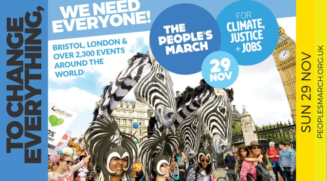 People's climate marches