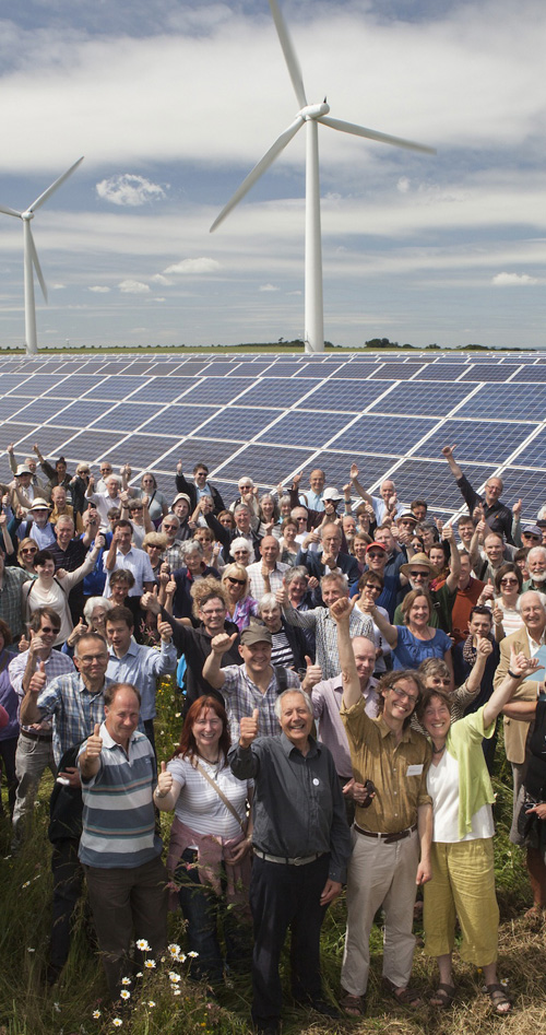 Westmill wind & solar