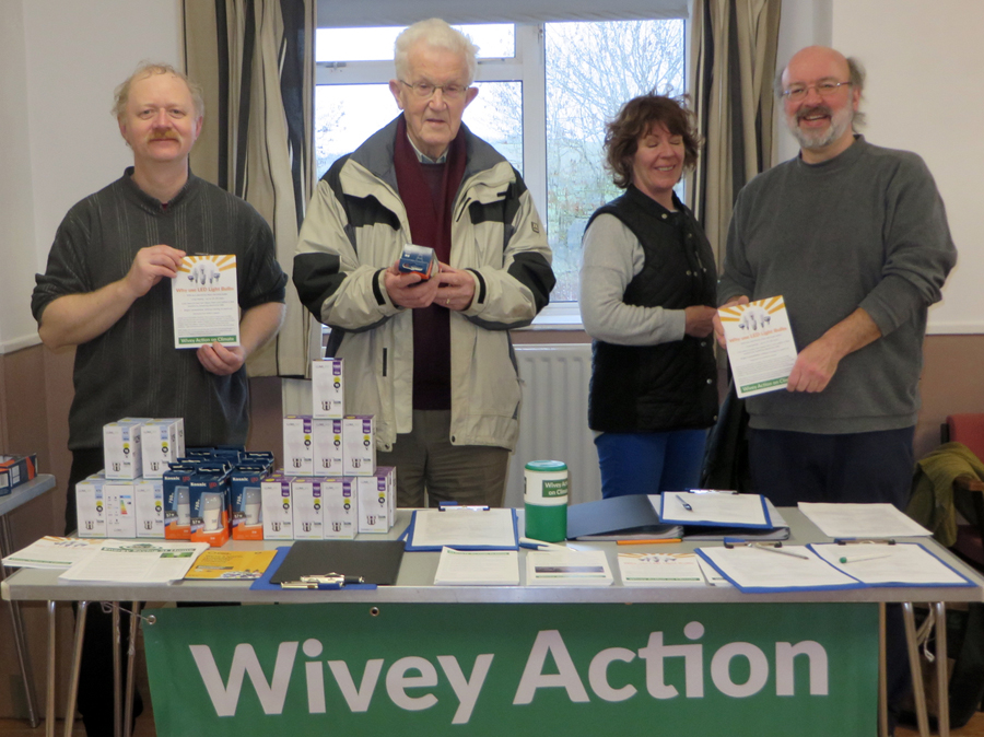 Wivey Action on Climate LEDs