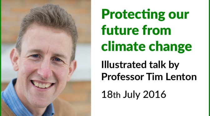 Report on talk by climate expert in Wiveliscombe