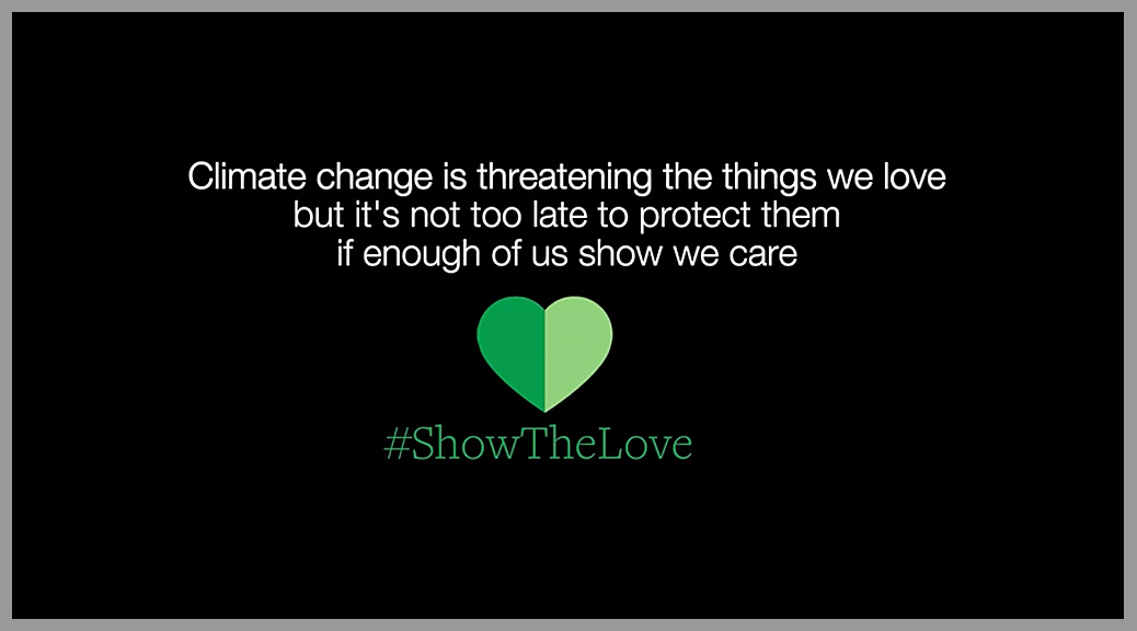 Show A Love Song Wivey Action On Climate Amp Environment