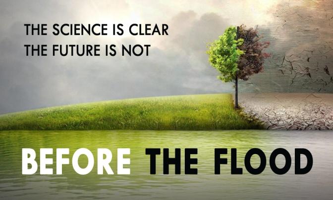 Leonardo Di Caprio climate crisis film