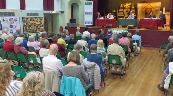 Report on 2017 general election hustings in Wiveliscombe