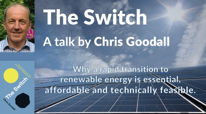 The switch to renewables