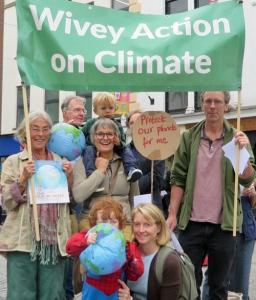 taunton climate rally