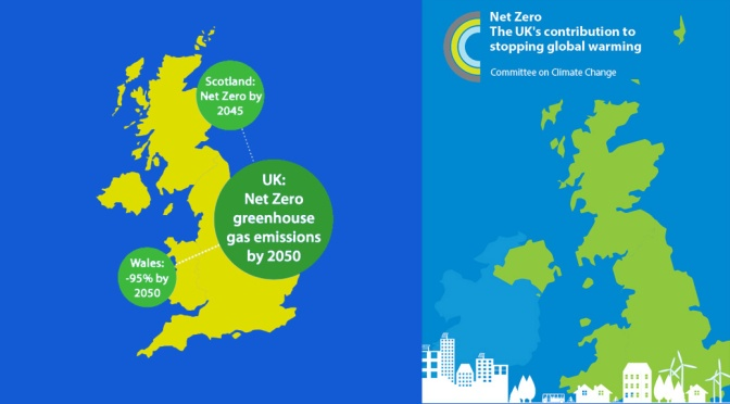 UK target for net zero carbon emissions