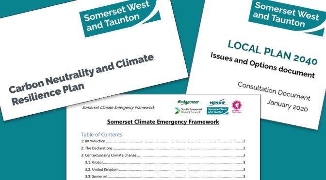 Consultation events for Council climate plans